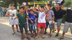 Our photo of the day: Local Dushanbe kids enjoying their new found status as Socceroos Active Support! Photo via Pablo Bateson. 08.09.15