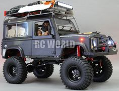 RC4WD 1 10 Land Rover Defender 90 Expedition Rock Crawler 4x4 w Winch RTR | eBay