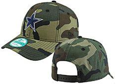 964fdf94cfee7 Dallas Cowboys Basic Camo 9Forty Adjustable Cap by New Era  19.95