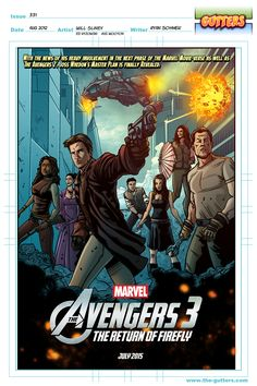 Avengers 3 - Gutters - Issue #331 by Will Sliney