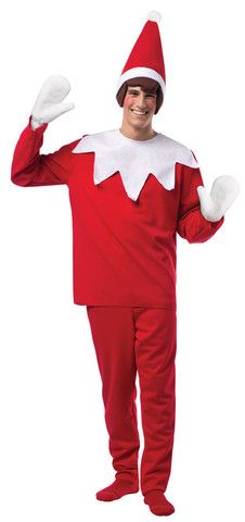 Elf On The Shelf Adult Costume lol the boys would love this @shawn2707