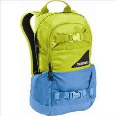 Burton WMS Day Hiker Backpack -Kids.  $49.99            Seriously, the Burton WMS Day Hiker Backpack is amazing. You'll need this pack for snowboarding, hiking or even going to class but no need to worry- with pockets and zippers galore, this thing has got you covered time and time again! Bottom line: have the support of a good pack!