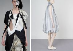 #SpringSummer2013 #SS13 #Repair #Trend #Fashion #Report by #TheTrendBoutique Left: Collection & Image by Bernhard Willhelm Right: Collection & Image by Issey Miyake