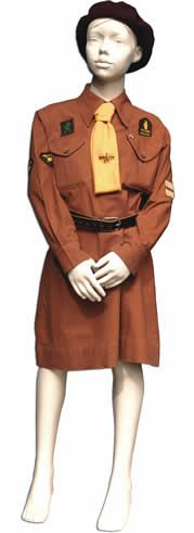 The 1950 Uniform A brown wool beret was introduced for Brownies in and stockings were removed from the official Brownie uniform list. In 1964 Brownies were also allowed to wear a cardigan!