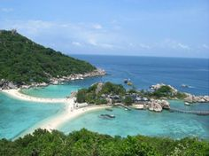 Thailand. (Diving Japanese Gardens and the Twins off of Koh Tao)