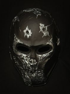 DEATH RACE - Airsoft  BB GUN - Paintball HELMET & Prop Mask Handmade in Thailand. $125.00, via Etsy.