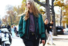 Street Style: Paris Fashion Week Spring 2015 – Vogue