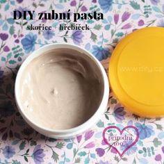 Zubní pasta se skořicí a hřebíčkem Detox, Health Fitness, Pudding, Ice Cream, Homemade, Desserts, Blog, Diy, Masky