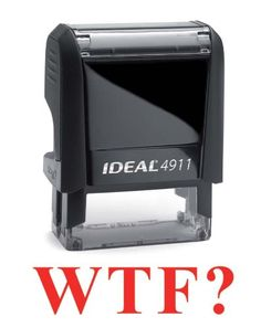 WTF? // every teacher needs this but can't use it. ;)