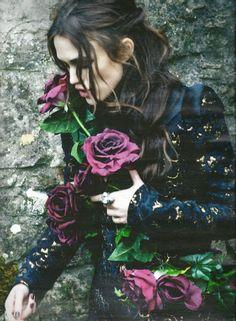 Keira Knightley photographed by Ellen von Unwerth for Harper's Bazaar UK, September 2012