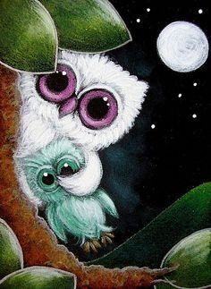 ^ Apparently, this is supposed to be a little albino owl with an owl doll. At first, I thought it was an owl mother trying to quiet down her sweet baby. Cute Owls Wallpaper, Yule, Owl Graphic, Owl Wall Art, Whimsical Owl, Owl Pictures, Beautiful Owl, Owl Crafts, Pintura Country