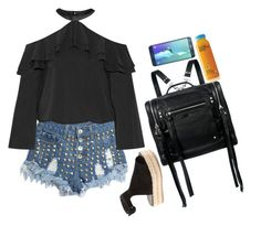 """""""Sin título #438"""" by nare-861 ❤ liked on Polyvore featuring Alice + Olivia, Prada and McQ by Alexander McQueen"""