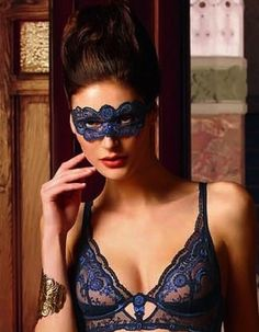 Ready to masquerade with Lise Charmel's Assur Mask: http://www.aricielingerie.com/sublime-assur-mask.html