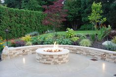 Fire and Water in Sammamish - traditional - firepits - seattle - by Greener Living Solutions, Inc