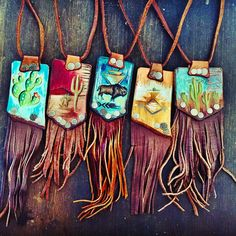 @hdwestleather #fringe #necklaces in the shop soon... ≫≪≪≫≫≪