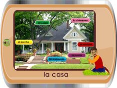 Site provides thematic units with pictures and pronunciation. Good for independent study.