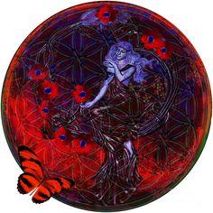 Flower Of Life Nouveau Art numérique