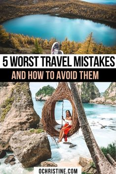 5 Worst Travel Mistakes and How to Avoid Them.  I've been traveling almost full-time for about three years now but no matter how much of an expert I become, there are some mistakes and blunders everyone experiences -- even the experts, against our better judgement! Here are my top travel mistakes and the lessons learned from them. #traveltips Travel Goals, Travel Advice, Travel Guides, Travel Tips, Travel Hacks, Best Travel Quotes, Travel Reviews, Worldwide Travel, Travel Information