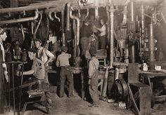 The History Place - Child Labor in America Lewis Hine Photos - The Factory: 9 p. in an Indiana Glass Works. Karl Marx, Lewis Wickes Hine, Empire State Building, Wisconsin, Hartford City, Corning Museum Of Glass, Labor Union, The Time Machine, Indiana Glass