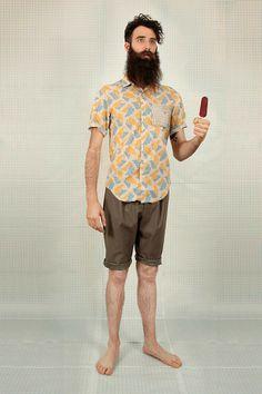 La chemise à fleurs - Comme un camion : Blog mode homme, magazine homme et site masculin