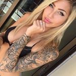 """22.1k Likes, 53 Comments - Tattoos (@tattoos_of_insta) on Instagram: """"@zhara_nilsson is our #WCW  Follow her other page: @zharasworld  T-shirt by: @concretehumanity…"""""""