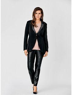 #Longblazer #Bluse #Jerseyhose #Slingpumps #guidomariakretschmerbyheine #plussize #collection