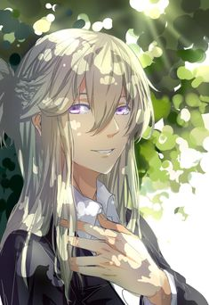 Juli's human form... So pretty, he's prettier than me! XD So much jelly... >w>