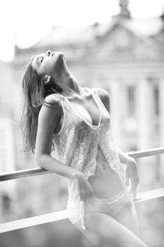 Paula Bulczynska, Gaga Models http://www.gaga.pl/models_pl_25_36.html, lingerie, black and white photography, beautiful