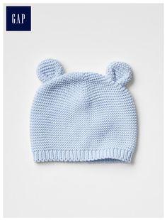 Bear knit beanie