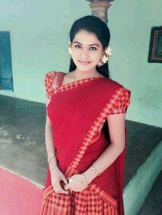 Indian Girl Bikini, Indian Girls, Sneha Saree, Beautiful Girl Indian, Simply Beautiful, Tamil Girls, Half Saree Designs, Lehenga, Sarees