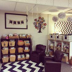 My classroom library #teachersfollowteachers #teachersofinstagram #iteachtoo…