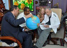Recibió Fidel a Su Alteza Real Príncipe Ahmad Al-Fahad Al-Sabah (+ Fotos) - Cuba - Juventud Rebelde - Diario de la juventud cubana
