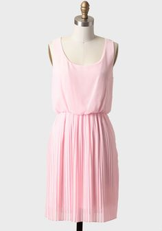 Strawberry Cascade Pleated Dress 38.99 at shopruche.com. This gorgeous pastel pink dress features a voluminous knife pleated skirt and a dramatic back keyhole button closure. Finished with a scoop neckline and an elastic waistband for a defined silhouette. Fully lined.100% Polyester, Made in USA,...
