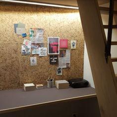 Trendy kork vegg er et miljøbevisst valg. Egner seg ypperlig som moodboard og kontrastvegg. Kork skaper en lun atmosfære og er lyddempende.