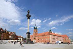 Stare Miasto Zamek Królewski Kolumna Zygmunta