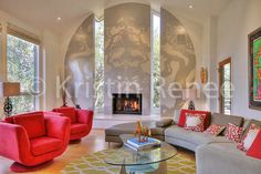 Home Living Room, Living Room Decor, Santa Barbara Real Estate, Real Estate Photographer, Home And Family, Bed, Building, Furniture, Photography