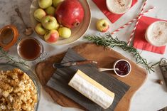 Tweet Every so often, my friend Tenaya and I get together and build a cheese board. She brings the cheeses and I come bearing preserves and other treats. A few weeks ago, we had a little mid-afternoon party for two in which we paired a log of downy goat cheese with apple cinnamon caramel, cranberry …
