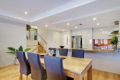 The open plan living area provides a great sense of space.