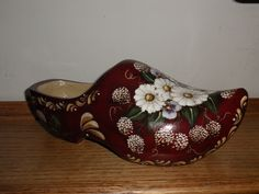another wooden Dutch shoe I painted