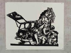 William Kentridge, 'The Death of Aldo Moro, The Ecstasy of Saint Teresa and Dying Barbarians', 2016 Trajan's Column, Modern Art, Contemporary Art, Mexican Art, Barbarian, Art Fair, Aldo, Saints, Death