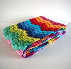 uitgeschreven patroon bargello sjaal