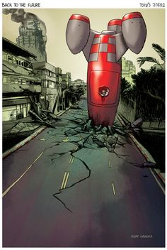 the weekly Realist by Asaf Hanuka  http://realistcomics.blogspot.com/2012/03/crash-landing-in-reality.html