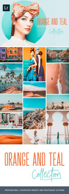Orange and Teal Lightroom presets and Photoshop actions are perfect for your fashion, travel, landscape, cityscape and street photography, but also for lifestyle and adventure photos. It will help you to get beautiful teal and orange tones, enhance your photos and make your images pop! #orangeteal #lightroom #photographytips #photoshop