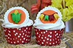 Cupcakes de Festa Junina