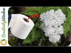 Coral-type Toilet Paper Flower Coral-type Toilet Paper Flower The post Coral-type Toilet Paper Flower appeared first on Paper Diy. Toilet Paper Flowers, Paper Flowers For Kids, Toilet Paper Crafts, Large Paper Flowers, Paper Flower Wall, Diy Flowers, Fabric Flowers, Tissue Flowers, Paper Flower Backdrop Wedding