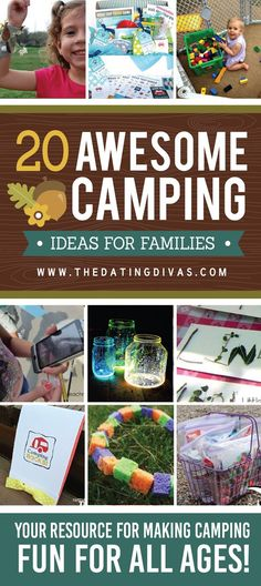 The ultimate list of the best ideas for camping with the kids!