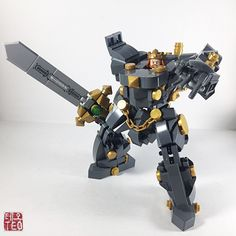 """2017 Hard Suit Mech Series: """"Regent"""" The legendary """"Sword In The Stone"""", re-imagined with Artorius donning the king's armor, as he prepares to defend the realm. Blessed with the Royal armor """"Regent"""",..."""