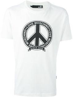 Love Moschino Camiseta com estampa
