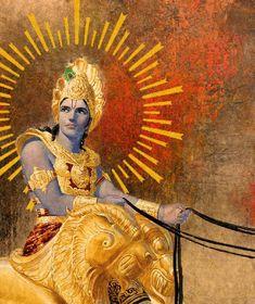 By Ananda Vrndavanesvari Devi Dasi Just as a very good sweet will have something… Manado, Arte Krishna, Tantra Art, Jnana Yoga, Lord Krishna Hd Wallpaper, Mythological Characters, The Mahabharata, Krishna Janmashtami, Lord Krishna Images