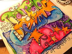 Art Journaling--check out the whole awesome blog!